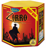 Средний фейерверк «Зорро»
